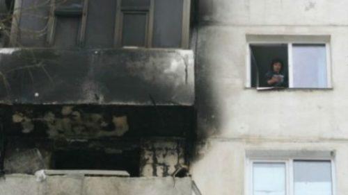 Explozie la un apartament din municipiul Drobeta Turnu Severin