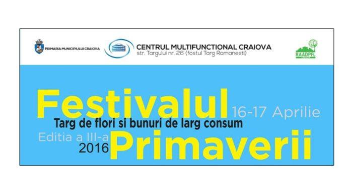 Primaria Craiova: Festivalul Primăverii,  o noua editie
