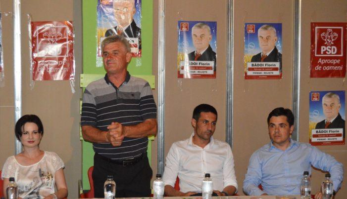 PSD Dolj: Claudiu Manda a participat la o întâlnire cu simpatizanții social-democrati din comuna Rojiște