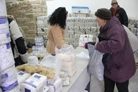 La Râmnicu Vâlcea începe distribuirea alimentelor în cadrul Programului Operaţional pentru Ajutorarea Persoanelor Defavorizate – POAD