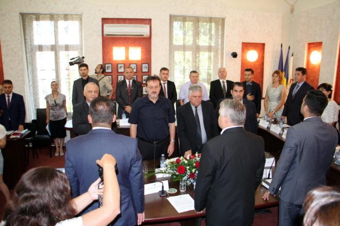 S-a constituit Consiliul Local al municipiului Râmnicu Vâlcea