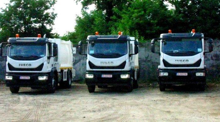 Trei noi autogunoiere au intrat în parcul auto al SC Pieţe Prest SA