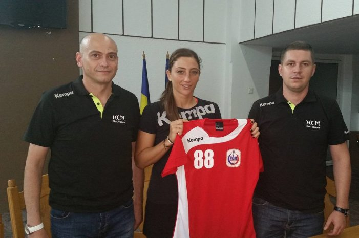 Patricia Vizitiu a semnat un contract pentru un sezon cu HCM Râmnicu Vâlcea