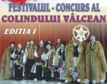Mâine debuteaza prima ediţie a Festivalului Concurs al Colindului Vâlcean