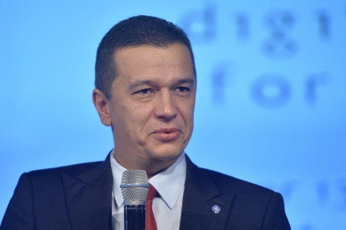 Sorin Grindeanu, noul premier al Romaniei