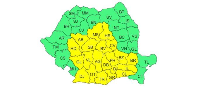 Cod Galben de ger in Oltenia
