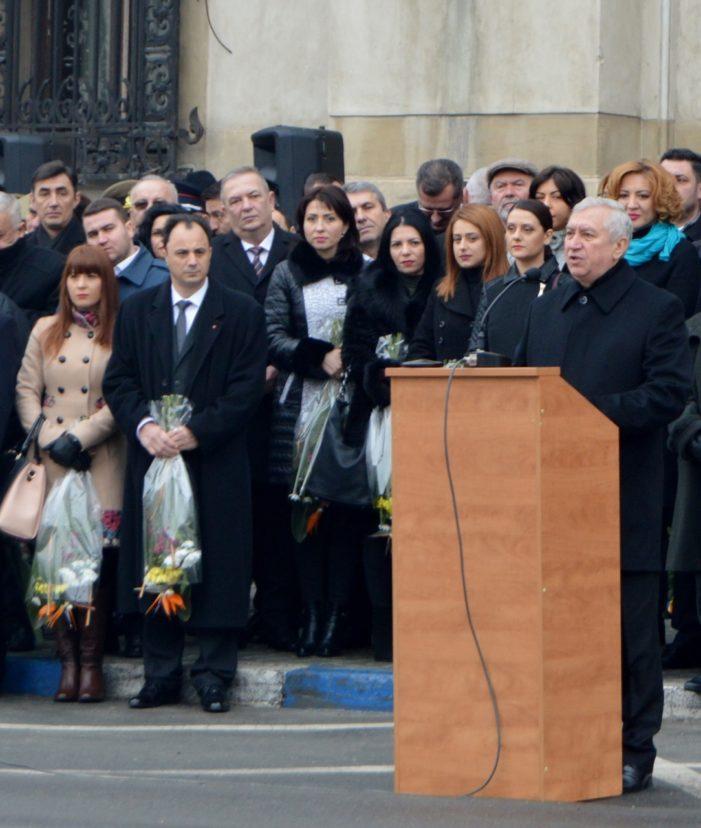 Mesajul președintelui Consiliului Județean Dolj, Ion Prioteasa,  cu prilejul Zilei Unirii Principatelor Române
