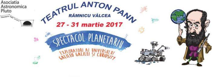 Primul planetariu mobil din România revine la Râmnicu Vâlcea, între 27 și 31 martie 2017