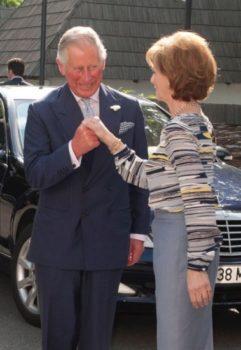 Principele de Wales, vizită la Palatul Elisabeta