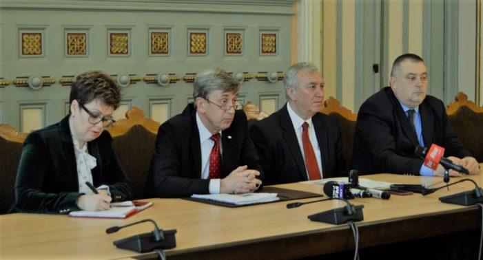 Președintele Consiliului Județean Dolj a primit vizita ambasadorului Federației Ruse în România, Valery Kuzmin