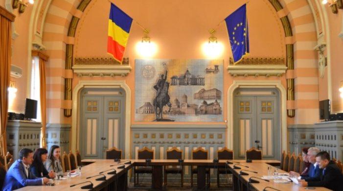 CJ Dolj: Președintele Ion Prioteasa a primit vizita unei importante delegații a municipalității din Lom (Bulgaria)