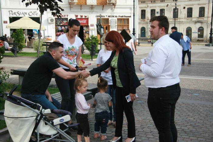 """Anisoara Stanculescu, candidat ALDE la primăria Craiovei: """"Propun cinci teme principale de dezbatere publică"""""""
