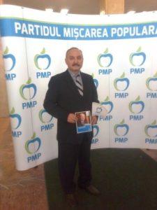 Dumitru Calina, candidatul PMP la Primaria Craiova