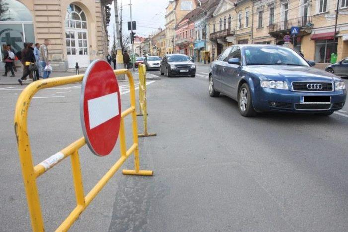 Primăria Craiova: Se închide circulaţia rutieră pe str. A.I. Cuza