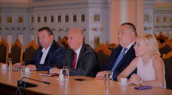 Primaria Craiova: Mihail Genoiu, prima întâlnire cu reprezentanții contingentului de militari polonezi care se vor afla la Craiova pentru următoarele șase luni