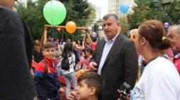 Primăria Râmnicu Vâlcea a modernizat locul de joacă pentru copii  din zona Mihai Eminescu