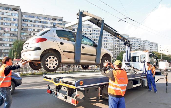 Primăria Craiova: De luni se vor pune în aplicare dispozițiile Hotarârii Consiliului Local nr. 130/2017 privind ridicarea, transportul şi depozitare a vehiculelor staţionate şi parcate neregulamentar