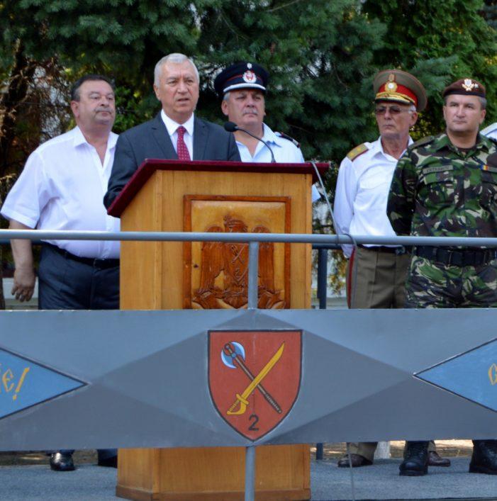 Mesajul președintelui Consiliului Județean Dolj, Ion Prioteasa, cu prilejul ceremoniei de predare-primire a comenzii la Brigada Multinațională Sud-Est