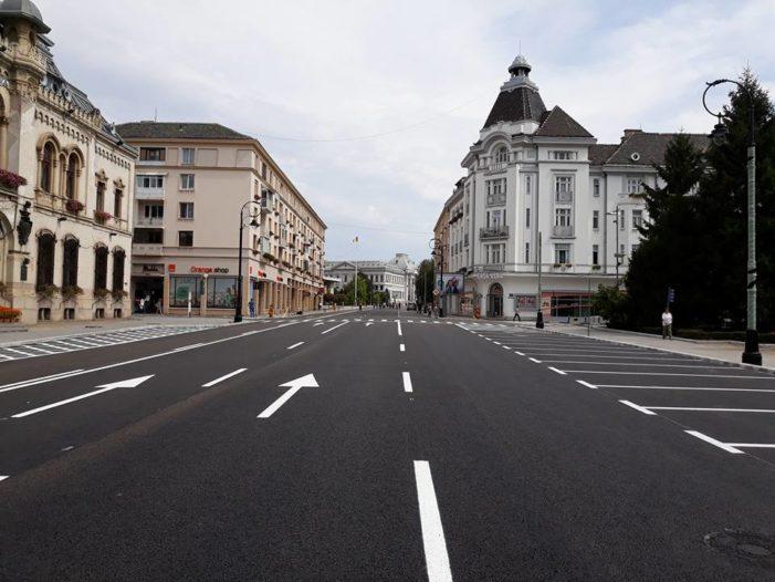 Primăria Craiova: Redeschiderea circulației rutiere pe str. A.I. Cuza și parcarea prin SMS