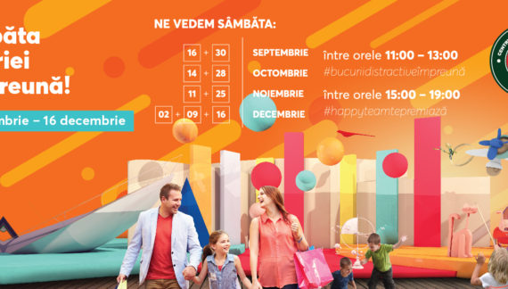 Auchan: Declarăm sâmbăta ziua oficială a bucuriei împreună !