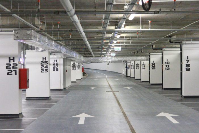 Ramnicu Valcea: Joi, 26 octombrie, se deschide primul nivel al parcării subterane din zona centrală