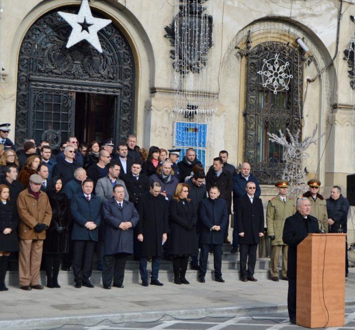 Mesajul președintelui Consiliului Județean Dolj, Ion Prioteasa,  cu prilejul Zilei Victoriei Revoluției Române și a Libertății