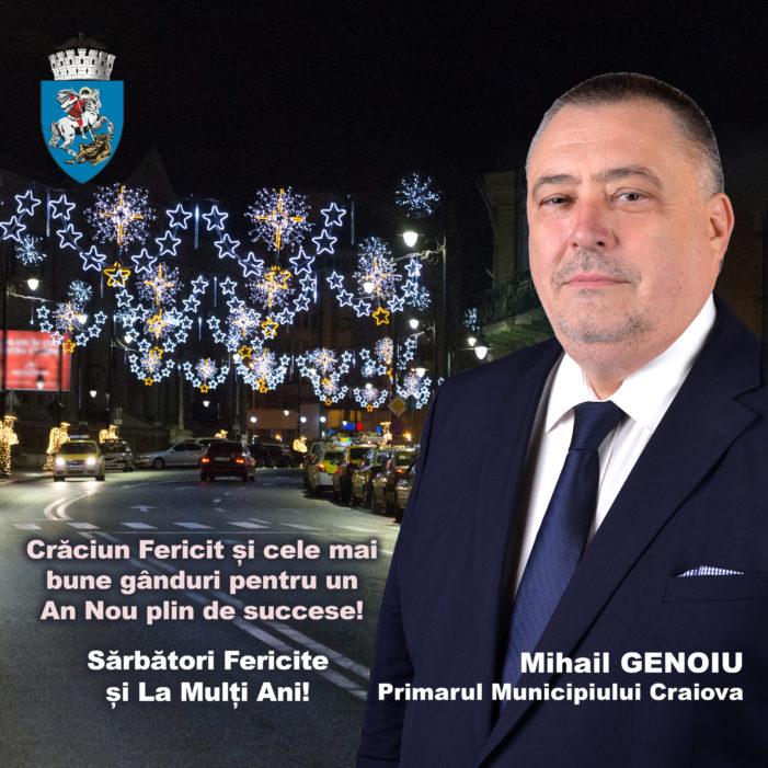 Mihail Genoiu:  Sărbători Fericite si La mulți ani!