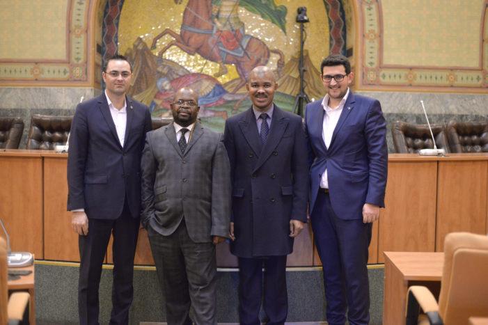 Primăria Craiova,  gazda Ambasadorului Republicii Africa de Sud la București