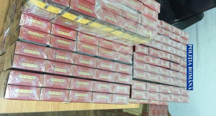 Olt: Prins in trafic cu 29.990 ţigarete de contrabandă