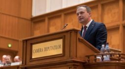 Declaraţia făcută de preşedintele Parlamentului Republicii Moldova, Andrian Candu, la şedinţa solemnă comună a Camerei Deputaţilor şi Senatului României