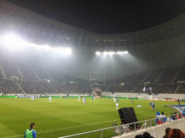 """Compania Națională de Investiții, precizari privind situaţia gazonului pe stadionul """"Ion Oblemenco"""""""