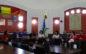 """Elevi din Cehia şi Olanda, alături de colegii lor de la Şcoala """"Take Ionescu"""", au vizitat Primăria municipiului Râmnicu Vâlcea"""