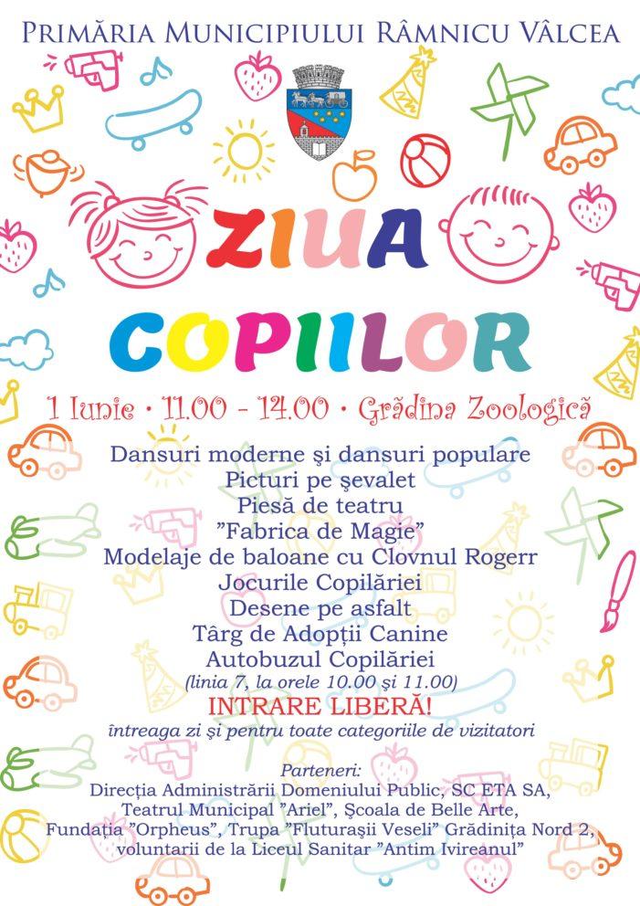 Manifestări diverse organizate de 1 Iunie – Ziua Copilului