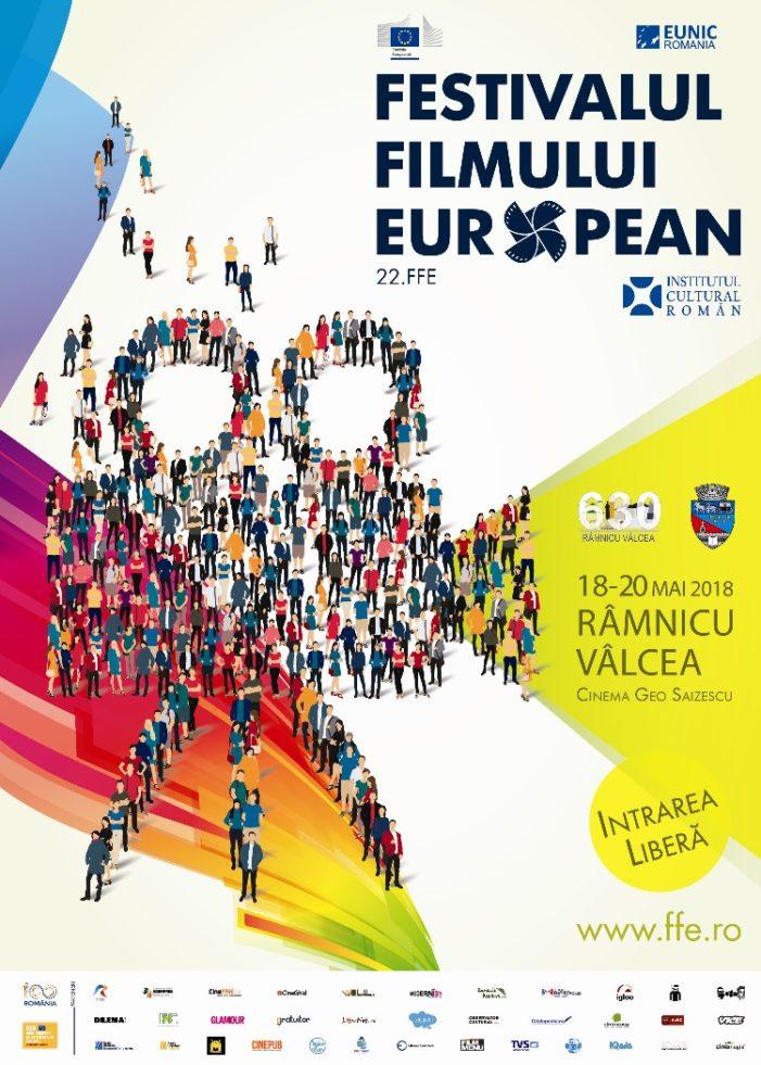 Un regal pentru cinefilii vâlceni: Festivalul Filmului European vine în premieră la Râmnicu Vâlcea între 18 şi 20 mai