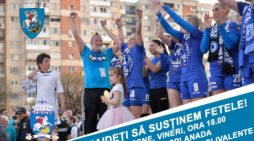 Craiova, alaturi de fete in finala Cupei EHF