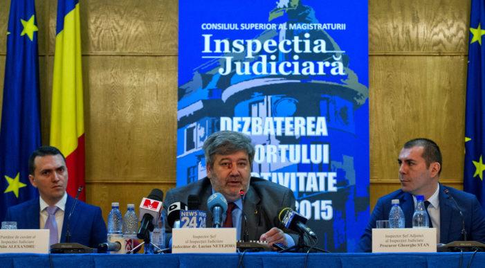 Inspecţia Judiciară, control privind dosarele de mare corupţie