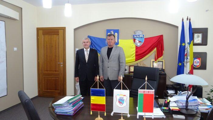 Primarul Mircia Gutău, intalnire cu Ambasadorul Republicii Belarus