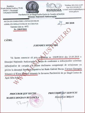 Dosarul zilei: DNA a deschis dosar penal pe numele lui Carmen si Klaus Iohannis