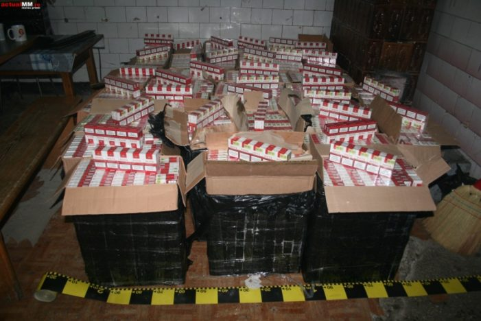 Craiova: Zeci de perchezitii la contrabandistii de tigari