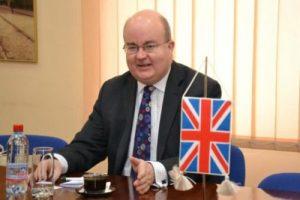 Ambasadorul Marii Britanii, la Târgu-Jiu
