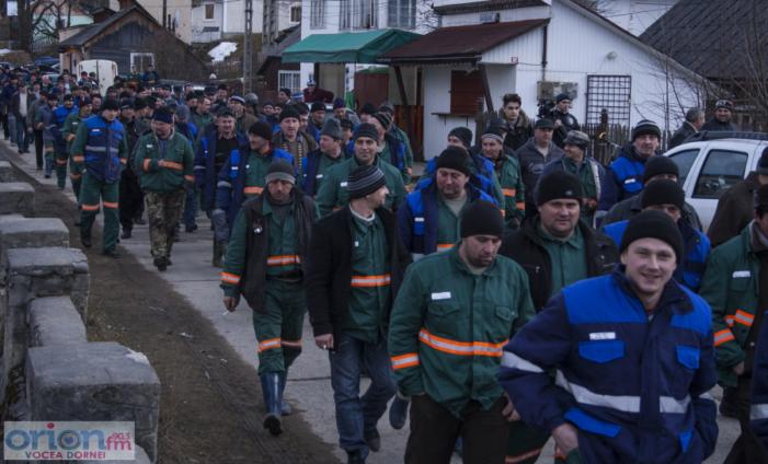 UPDATE: Minerii vin la Bucuresti