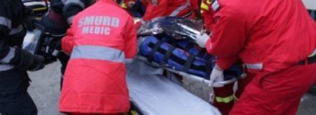 Accident de muncă pe șantierul stadionului din Tg-Jiu