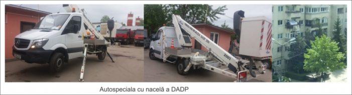 Precizari Primaria Valcea:  Autospeciala DADP nu prestează servicii private