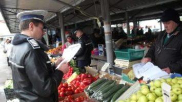 Valcea: Comercianţii au fost luaţi la puricat de poliţişti