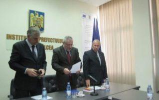 Prefect de Valcea, Radu Renga, primele întâlniri cu directorii de deconcentrate din județ