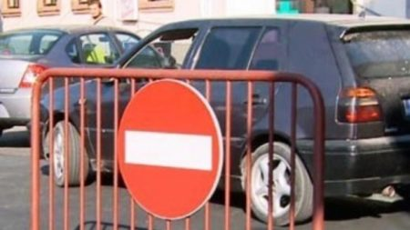 Ramnicu Valcea: Restricţii de trafic ca urmare a desfăşurării Zilelor Imnului Naţional