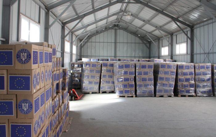 Primăria Vâlcea începe, de miercuri,  distribuirea alimentelor în cadrul POAD
