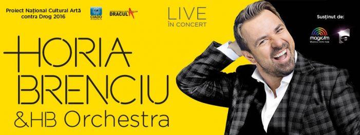 Horia Brenciu concertează pe 28 octombrie la Sala Polivalentă din Craiova