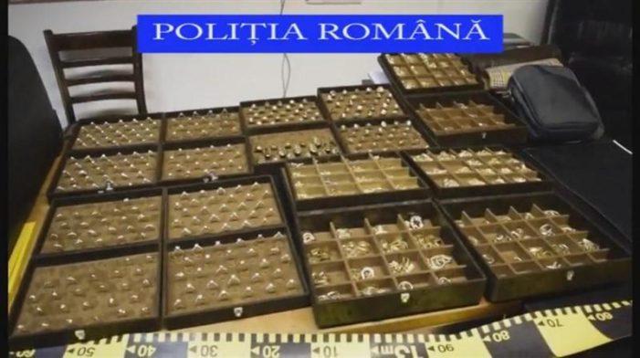 Olt: Politistii au confiscat 30 de bijuterii din aur, cu o greutate totală de 165,35 grame