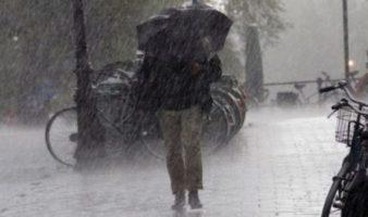 Valcea: Cod portocaliu de ploi, furtuna si grindina